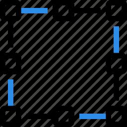 area, content, design, edit, editor, graphic, grid icon