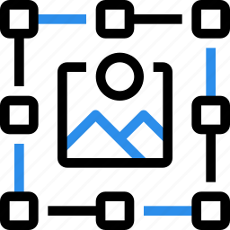 are, art, design, draw, graphic, grid, photo icon