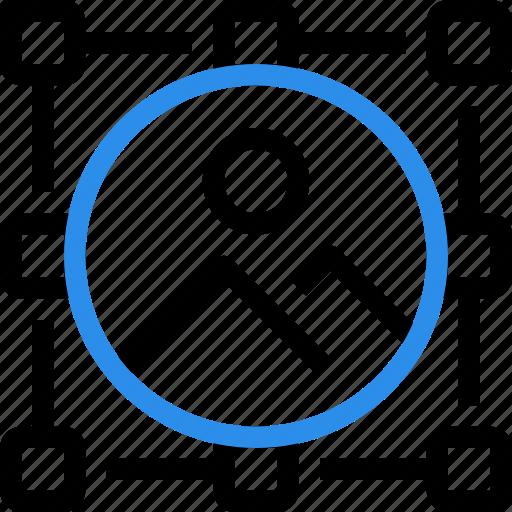 area, art, design, draw, graphic, grid, picture icon
