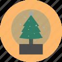 christmas, tree, winter icon icon
