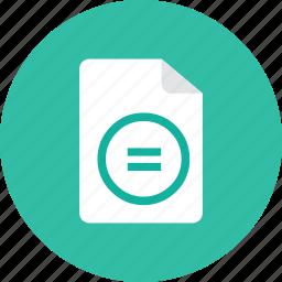 balance, file icon