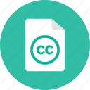 cc, file icon
