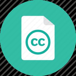 cc, file icon
