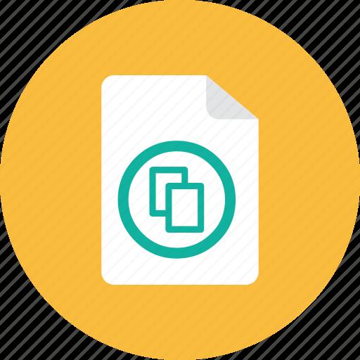 duplicate, file icon
