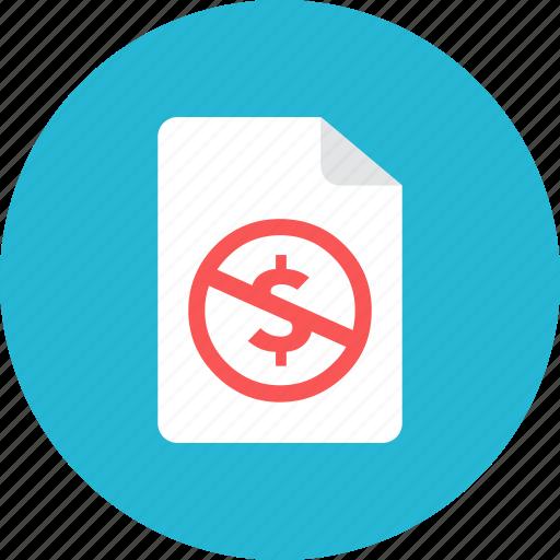 benefit, file, no icon