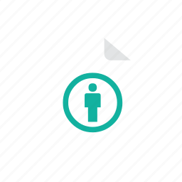 file, people icon