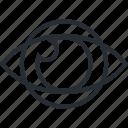 catching, design, eye, graphic, line, marketing, thin icon