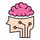 brain, creative, idea, innovation icon