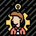 concepts, develop, idea, integration, relate icon