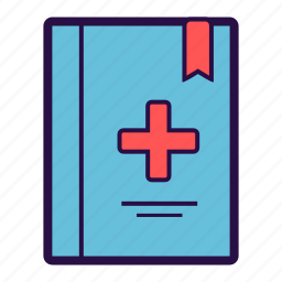 medical, medical history, notes, prescription, report icon