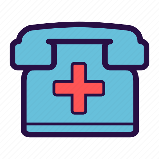 call center, emergency, enquiry, medical, medical callcenter, phone, phone appointment icon