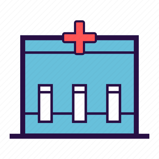 health care, medical, medical box, medical kit, test box icon