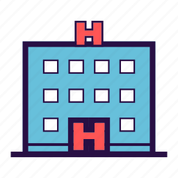 building, care, clinic, emergency, hospital, medical icon