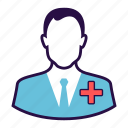doctor, health care, male doctor, physician, surgen icon
