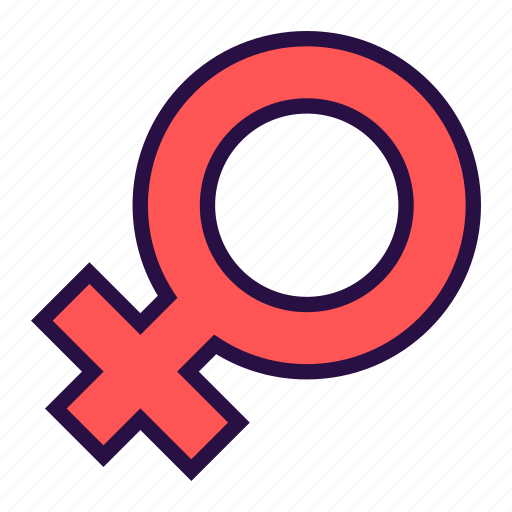 female, feminine, gender, ladies, medical symbol, venus symbol, women icon