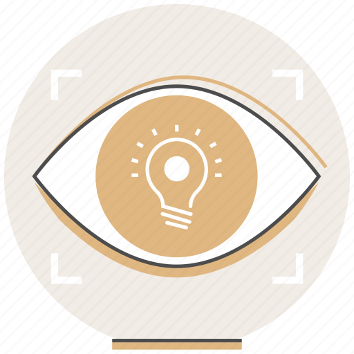 Concept, creative, eye, idea, process, vision icon - Download on Iconfinder