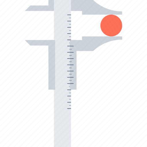 Calipers, development, instrument, precision, ruler, tool, measurement icon - Download on Iconfinder