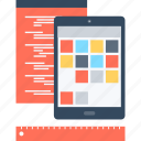 app, application, coding, development, program, software, tablet icon