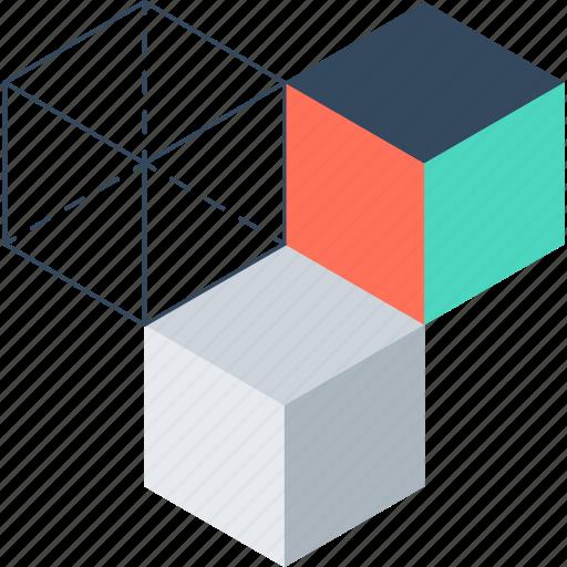 Box, cube, design, development, digital, graphic, modeling icon - Download on Iconfinder