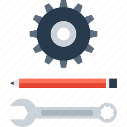 design, development, engineering, instrument, options, settings, tool icon