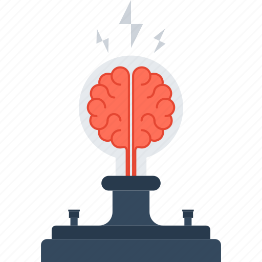 Brain, brainstorm, bulb, idea, light, research, solution ...