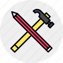 build, construct, design, develop, tool, tools icon