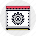 draft, engineering, process, prototype, prototyping icon