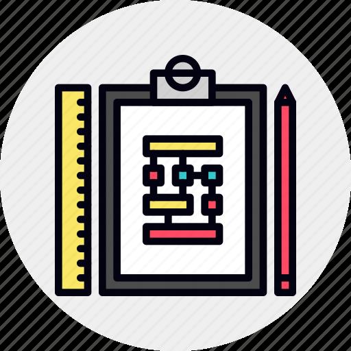 Algorithm, process, scheme, work, workflow icon - Download on Iconfinder