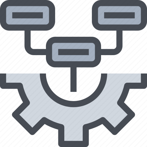 cog, configuration, gear, management, planning, process, settings icon