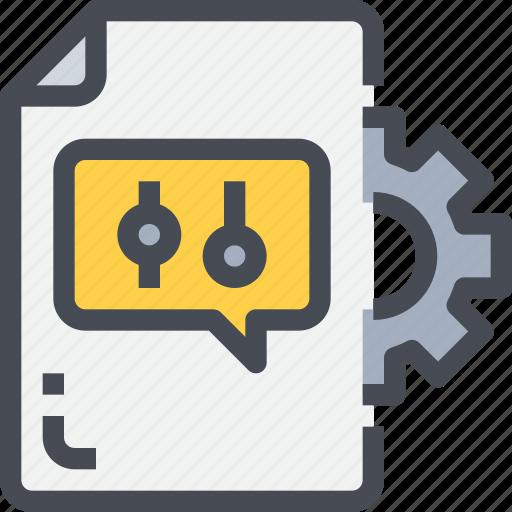 data, develop, developmentd, management, option, setting icon