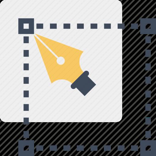 app, application, design, draw, graphic, illustration, pen icon