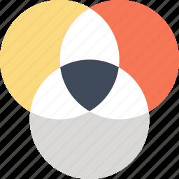 balance, color, design, graphic, paint, palette, wheel icon