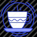 cup of tea, hot beverage, hot tea, tea, tea cup icon