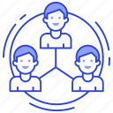 community, company structure, corporate structure, team, teamwork icon