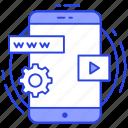 app development, application setting, mobile development, mobile software, mobile ui icon