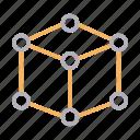 box, creative, cube, design, shape icon