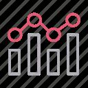 analytic, chart, graph, mathematics, statistics icon