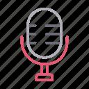 audio, mike, recorder, speaker, voice icon