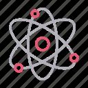 atom, electron, molecule, neutron, science icon