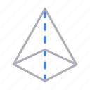 cone, creative, design, process, shape icon