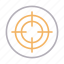 aim, crosshair, focus, goal, target