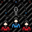 teamwork, team, person, group, leader