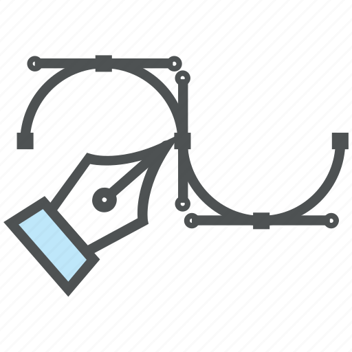 bezier, design, drafting, illustrator tool, metrize, pen bezier, pen tool, photoshop tool icon