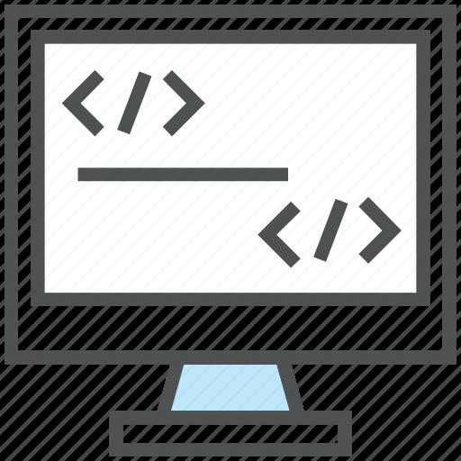 div, div coding, html, html coding, html language, source code, xhtml icon