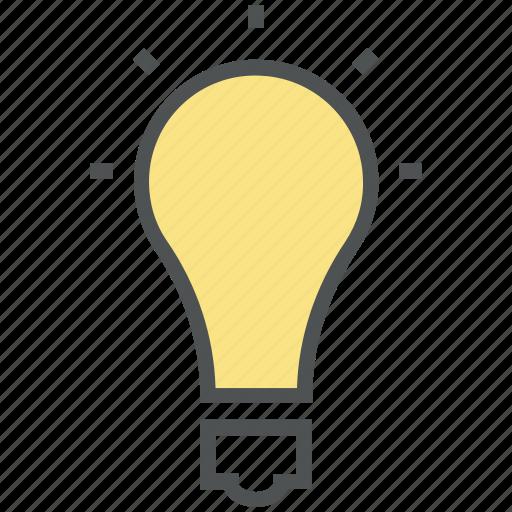 bulb, bulb light, electric bulb, electricity, ideas, illumination, light, light bulb icon