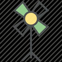 air turbine, electric fan, fan, forecast, turbine, wind, windmill icon