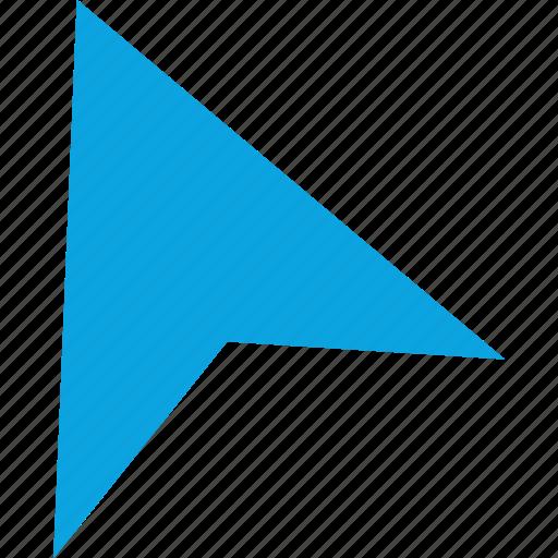 arrow, click, design, pointer icon