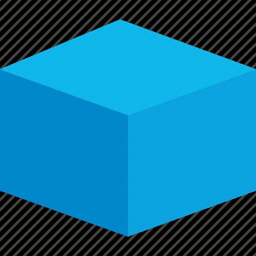 box, cube, graphic design, thinking icon