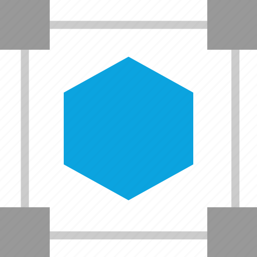 Graphic, hexagon, shape, creating icon - Download on Iconfinder