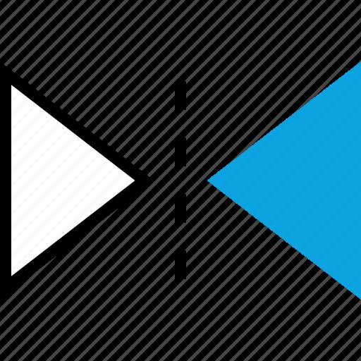 copy, duplicate, illustrator, mirror icon